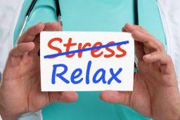 کاهش استرس و اضطراب