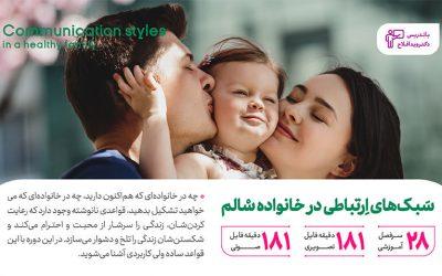 سبک های ارتباطی در خانواده سالم