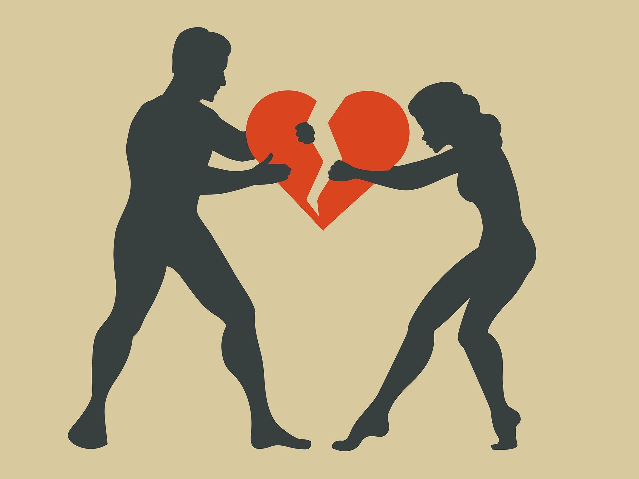 مشکلات پس از طلاق
